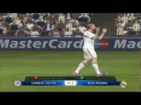 Penalty Shootout Real Madrid Vs Udinese Calcio PES 13