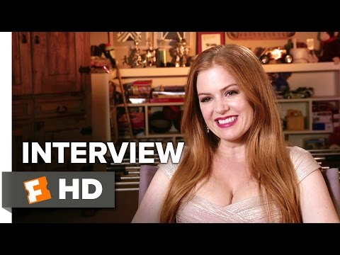 Keeping Up with the Joneses Interview - Isla Fisher (2016) - Comedy