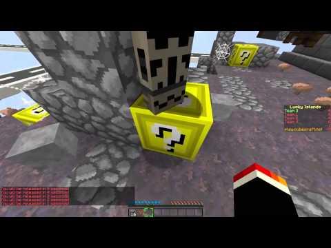 Minecraft NEW LUCKY BLOCK SKYWARS! #1 (Lucky Block Islands) w/ PrestonPlayz & Kenny
