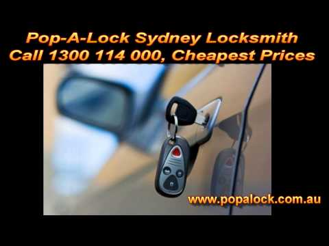 Cheap Locksmith Sydney - Pop-A-Lock, Fastest Service