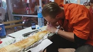 KEBAB 100CM CHALLENGE | [Epic Cheat Meal]