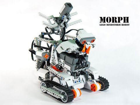 How To Build Lego Mindstorms Nxt Morph Instructions Youtube