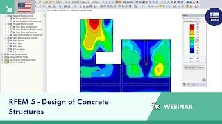 Dlubal Webinar: RFEM 5 - Design of Concrete Structures