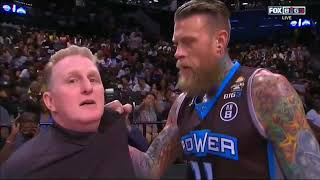 Birdman almost KILLS Michael Rapaport for trying to Interview him Pregame