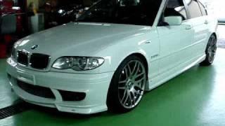 BMW E46 セキュリティ連動ウインドウクローズ