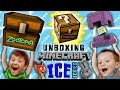 Stolen MINECRAFT Minechest from Zootopia! + Ice Series Mini-Figure Blind Bags Fun w/ FGTEEV Boys