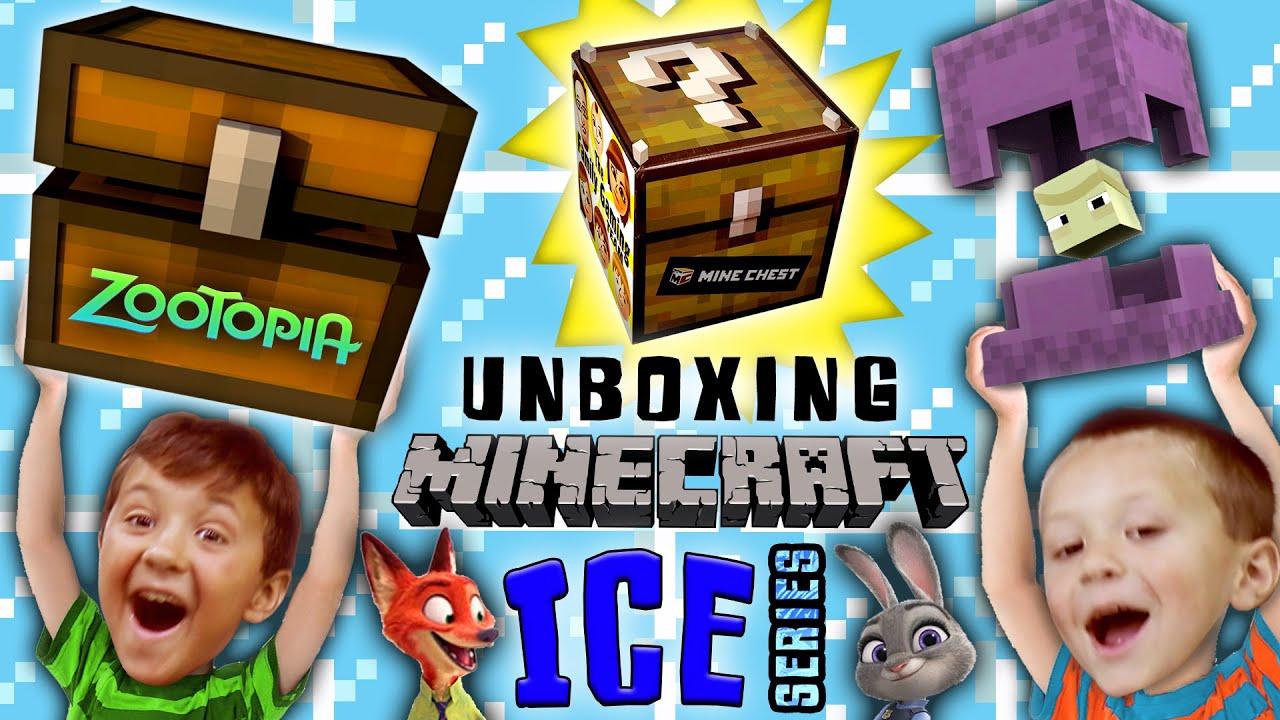 Stolen Minecraft Minechest From Zootopia Ice Series