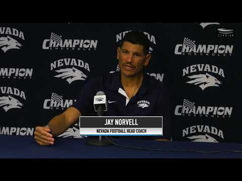 Nevada Football Weekly Football Press Conference