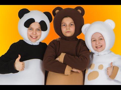 3 медведя - МУЛЬТИМИР 2016 - Выступление Трех медведей для детей 4 июня 2016 года на ВДНХ в Москве