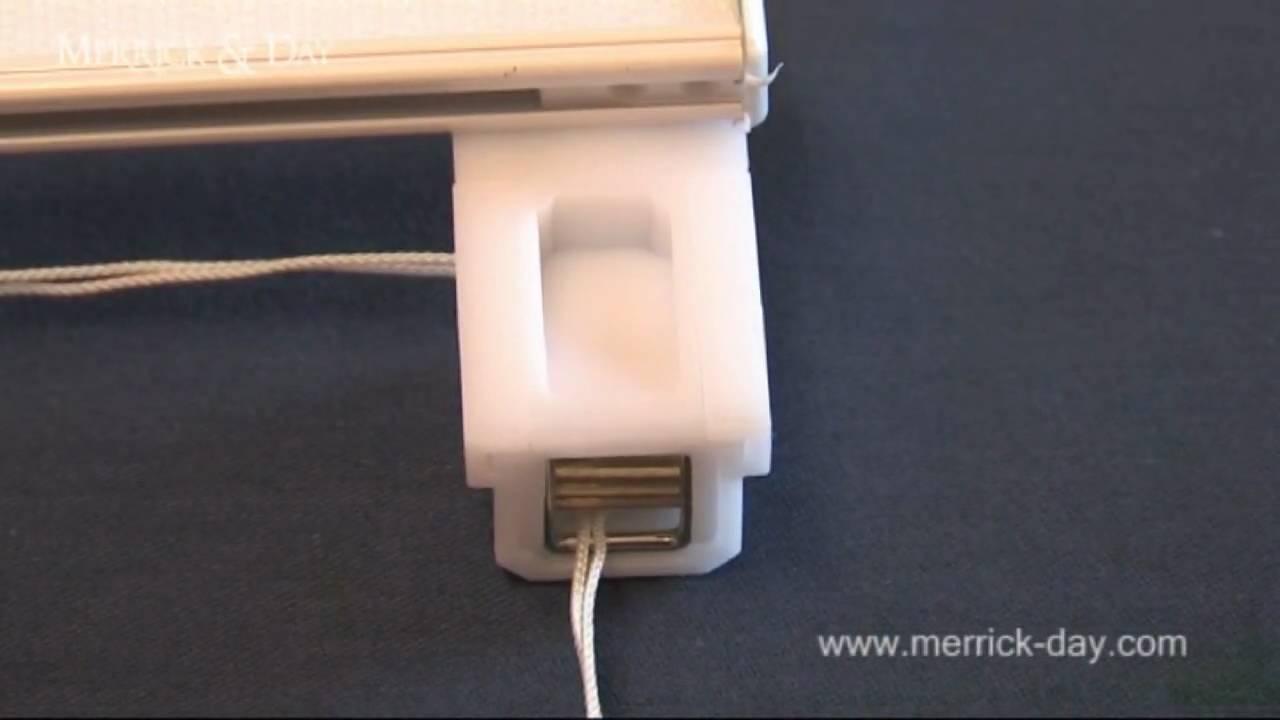 merrick day super corded roman blind youtube. Black Bedroom Furniture Sets. Home Design Ideas