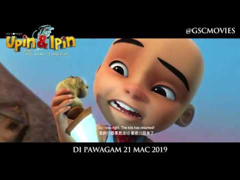 Upin Ipin Keris Siamang Tunggal Official Trailer In Cinemas 21 March 2019 Youtube