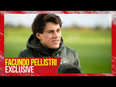 """Facundo Pellistri Exclusive """"It's a dream for me to be part of this club"""" 