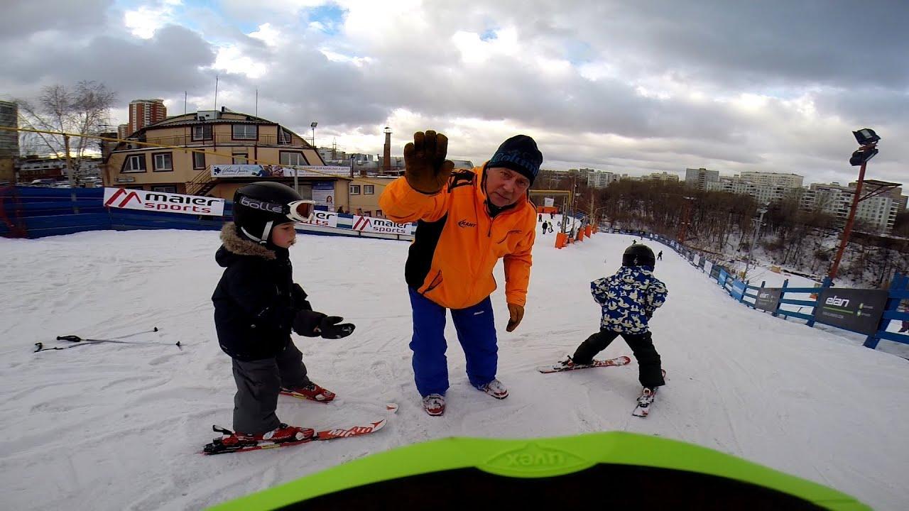 Горные лыжи (4 года) в спорткомплексе