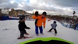 """Горные лыжи (4 года) в спорткомплексе """"КАНТ"""""""