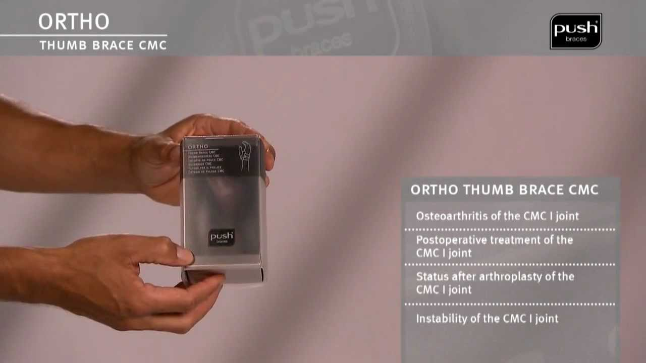 Push Braces | ortho Thumb Brace CMC