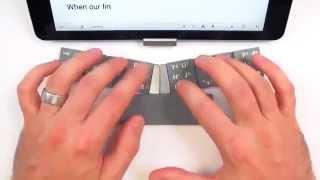 Карманная клавиатура для смартфона, оригинальное и практичное решение - TextBlade