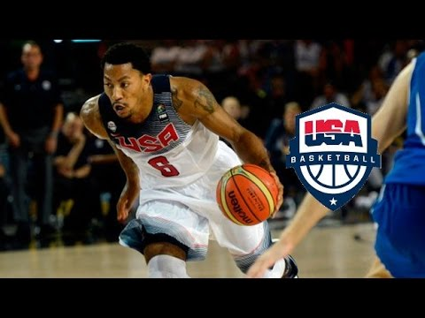 93a9df471e0e Derrick Rose Team USA Offense Highlights (2014) - EXPLOSIVE! - YouTube