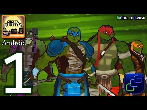 Teenage Mutant Ninja Turtles Official Movie Game Android Walkthrough - Gameplay Part 1