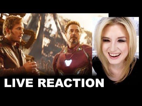 Avengers Infinity War Trailer 2 REACTION
