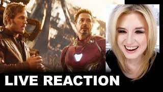 Avengers Infinity War Trailer 2 REACTION