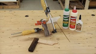 Franklin-titebond Shop-made Wooden Try Square: Part 1