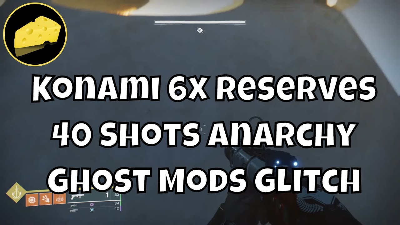 Konami 6x Reserves Glitch - 40 Shot Anarchy - Game Breaking Ghost Reserves - 4 Mods On 1 Chest Piece