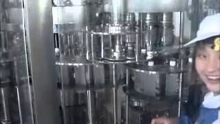 Chaine de production d'eau minérale