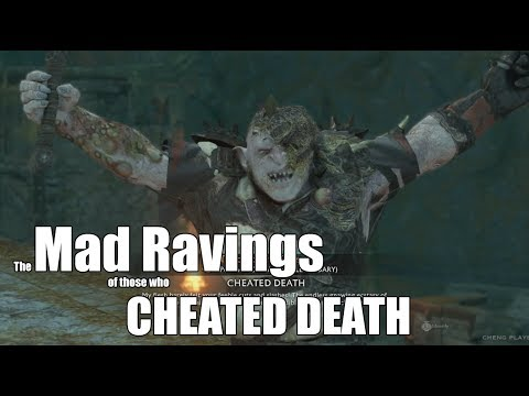 Middle-Earth Shadow of War : Compilation of Quotes made by Orc Captains who Cheated Death