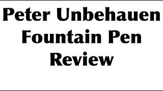 Fountain Pen Review: ② Classic MONTBLANC Pens