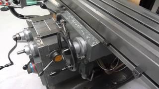 AJAX AJT 4 Turret Milling Machine with Digital Readout