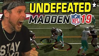 UNDEFEATED in Madden 19! Expert Tips & Tricks (not used)