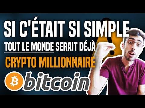 Bitcoin : Si c'était si simple, tout le monde serait déjà crypto millionnaire !