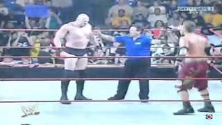 WWE Raw Draft 2007 The Miz Vs Snitsky