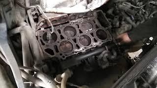Ремонт двигателя VR6 объем 2.8  204 л.с. Часть третья.