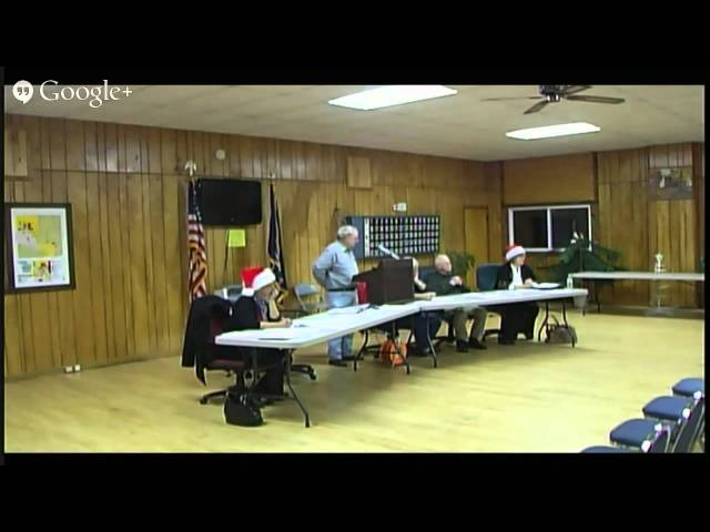 Lincoln Township Meeting 12/9/2013