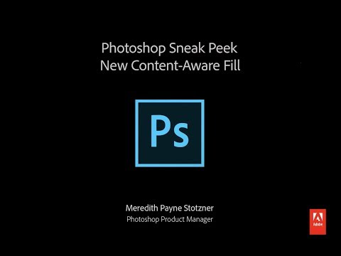 Photoshop makes objects disappear with revamped Content-Aware Fill