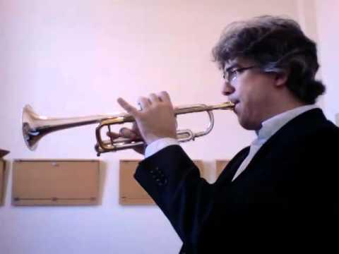 CONCONE - Lyrical Studies for trumpet - N. 9 - Allegro giusto
