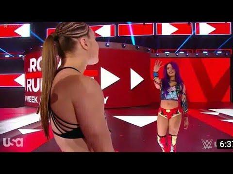 :FULL MATCH -1 Mar.2020 Ronda Rousey Vs. Nikki Bella - Raw Women's Championship: WWE Evolution (WWE