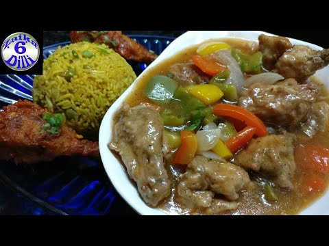 Chinese Black Pepper Gravy Chicken : Complete Meal | Is Tarah Bnae