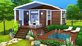 Download lagu LUXURIOUS TINY HOUSE 🌲 | The Sims 4 | Speed Build