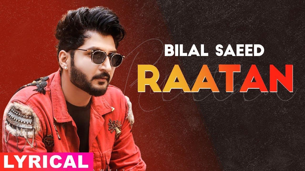 Rattan (Lyrical Video) | Bilal Saeed | Exclusive Punjabi Song on NewSongsTV & Youtube | Speed Records