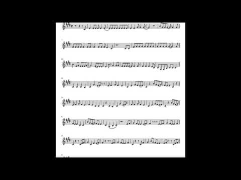 Shape of you NOTES/ SPARTITO/ SHEET MUSIC