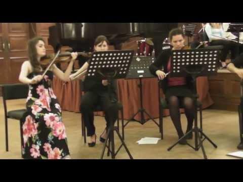 Reading University String Ensemble Spring 2012 Canon in D by Johann Pachabel