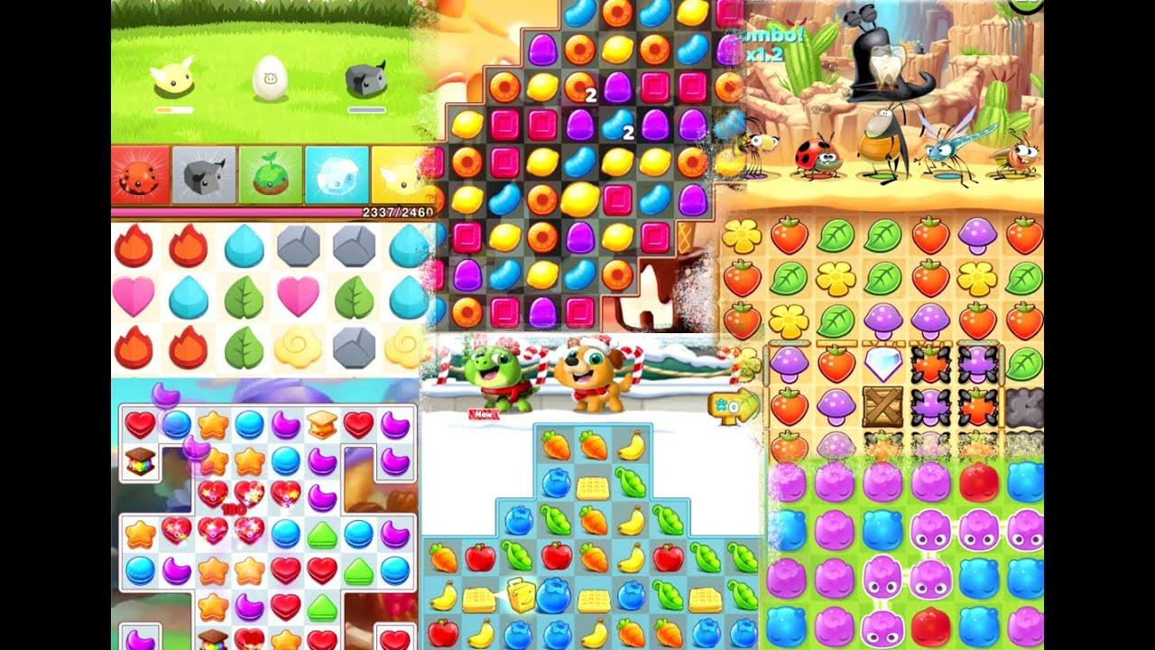 10 Awesome Games Like Candy Crush Youtube