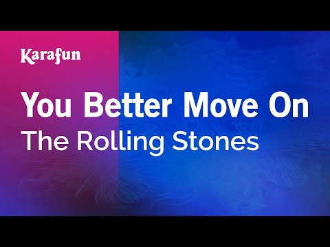 Karaoke You Better Move On - The Rolling Stones *