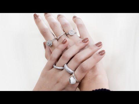Imagem do produto Colar Brillantring com Círculos Cravejados de Zircônias Prata 925