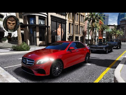 ► GTA 6 Graphics - ✪ REDUX - Mercedes E400 W213 2017! Gameplay! Realistic Graphics MOD PC- 60 FPS