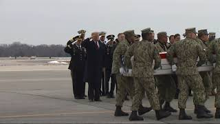 Trump honors four Americans killed in Syria attack