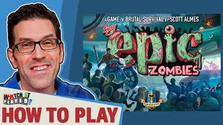 Tiny Epic Zombies - How To Play