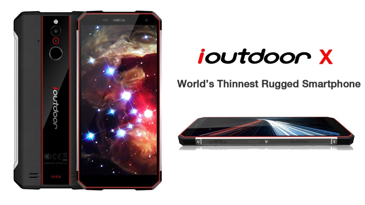 best service 81619 f5185 ioutdoor X - 6GB RAM Rugged smartphone